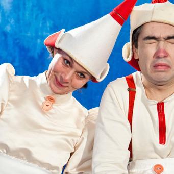 Varje höst och vår arrangerar Tyresö Bygdegård två barnteaterföreställningar.