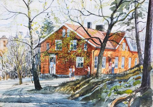 Kulturverksamhet i Tyresö Bygdegård